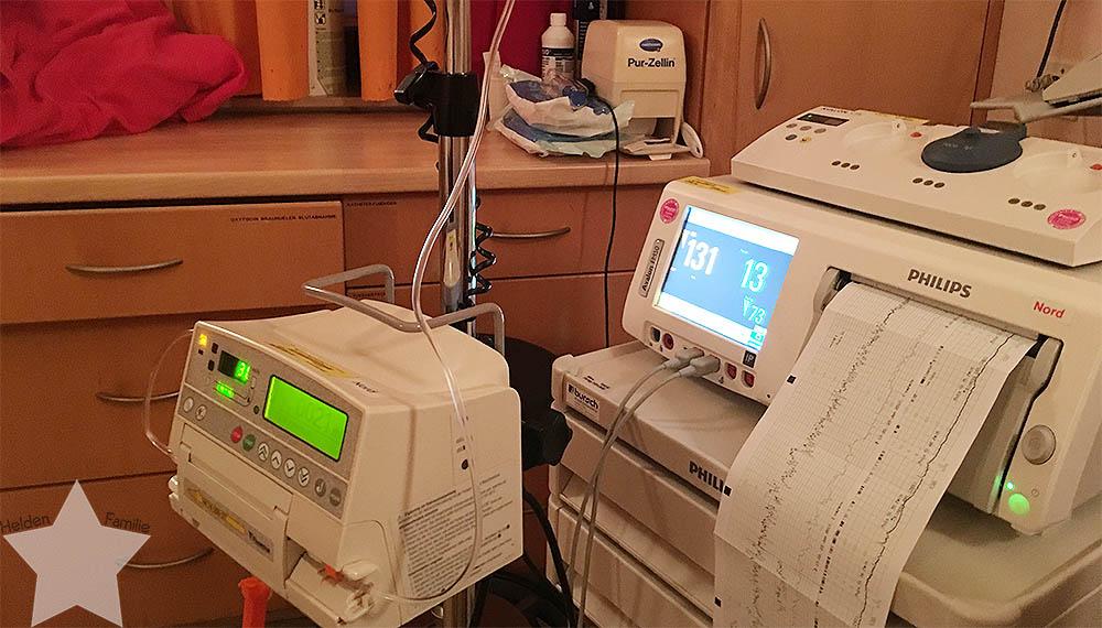 Geburt - Geburtsbericht - 3. Kind - VBA2C - CTG - schlechte Herztöne