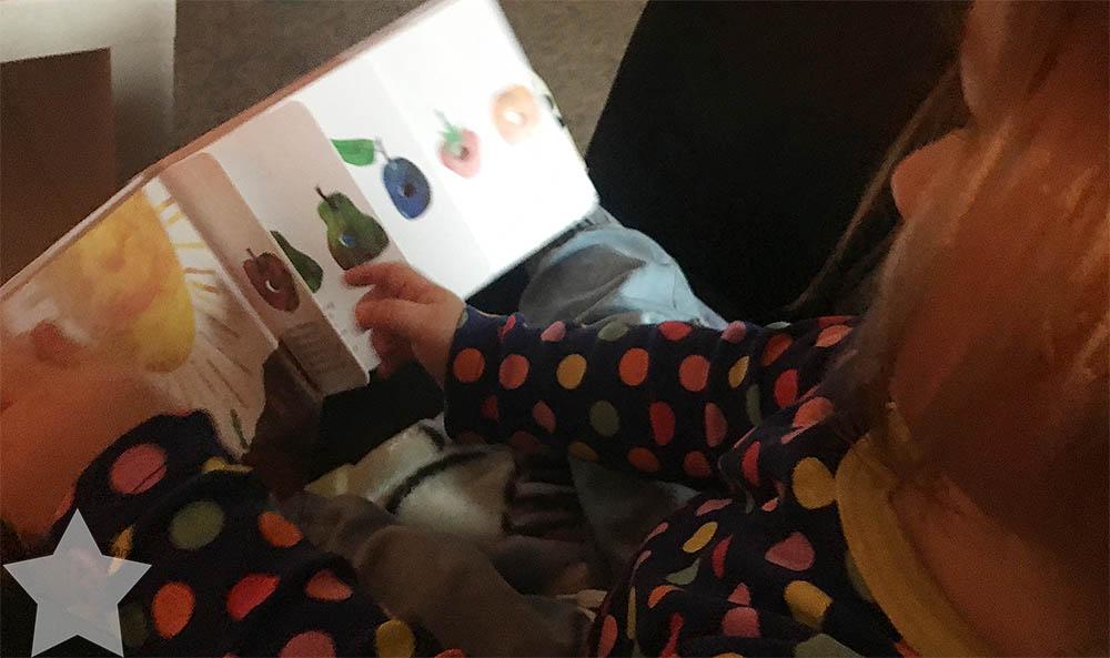 www-helden-familie.de | krank und schlaflos - Wochenende in Bildern - Lesen mit dem Kleinkind