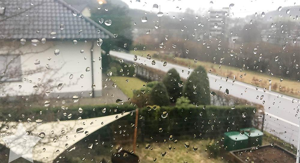 www-helden-familie.de | krank und schlaflos - Wochenende in Bildern - Regenwetter