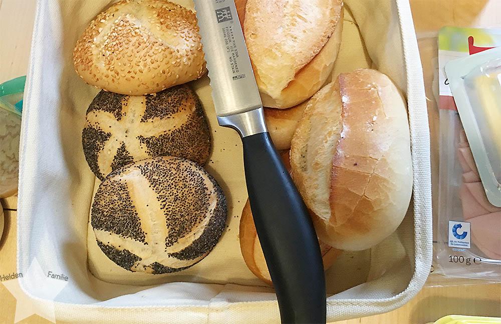 www-helden-familie.de | krank und schlaflos - Wochenende in Bildern - Brötchen zum Frühstück