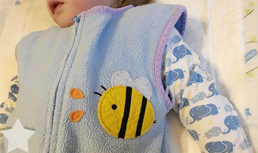 www-helden-familie.de | krank und schlaflos - Wochenende in Bildern - Kleinkind bettfertig