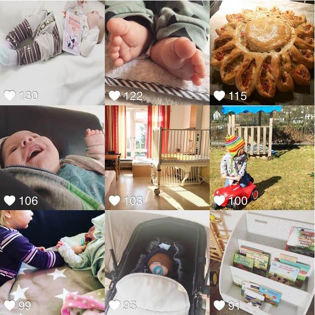 Aprilpläne - zurück zum Unileben - Instagram Rückblick
