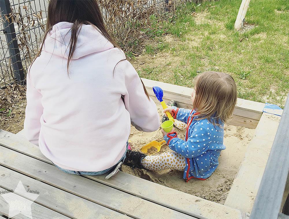 Angrillen und Sonntagseinladung - Wochenende in Bildern - www.helden-familie.de - Töchter