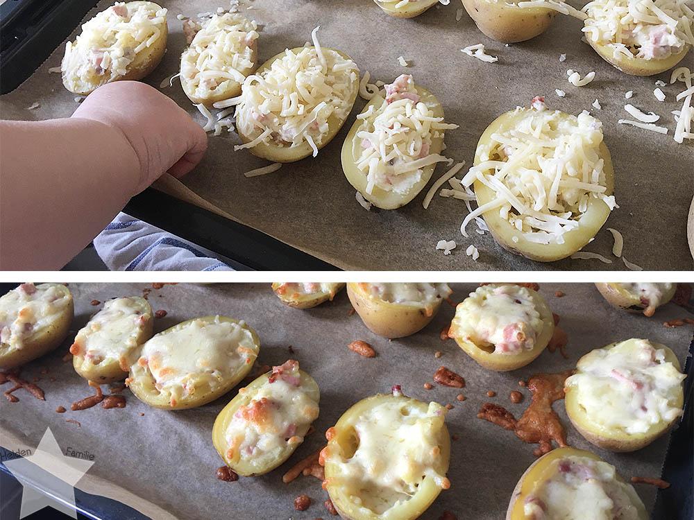 Sonnenwochenende - gefüllte Kartoffeln