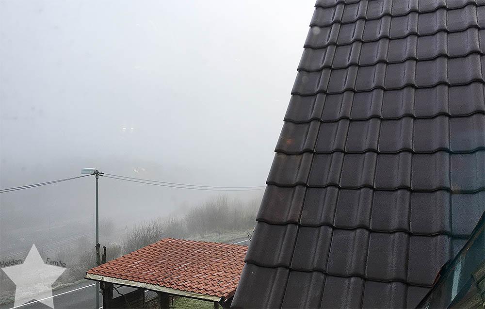 Sonnenwochenende - Nebliger Morgen