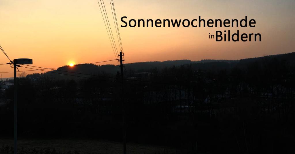 ein Gefühl von Sommer | Wochenende in Bildern 08.-09.04.