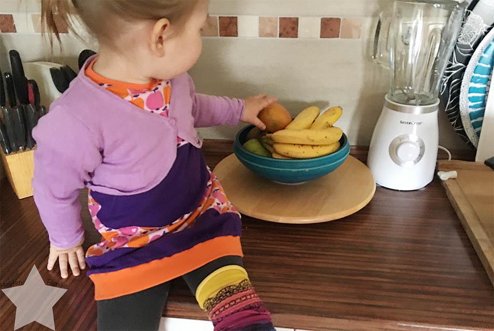 Ostern in Bildern - Obst zum Frühstück