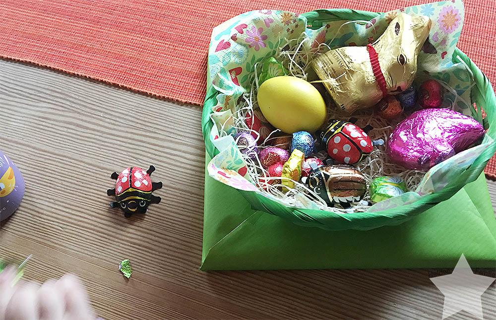 Ostern in Bildern - Osternest bei der Oma