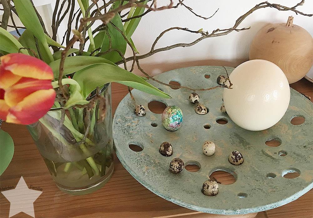 Ostern in Bildern - Osterdeko bei der Oma