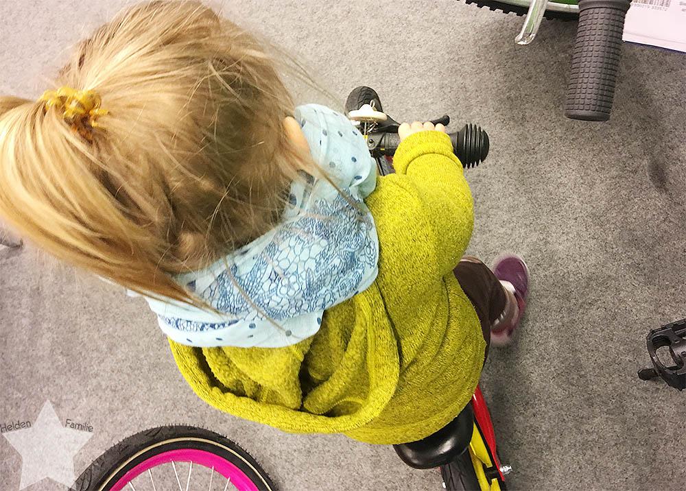 Wochenende in Bildern - Läuse-Alarn - Laufrad für das Kleinkind
