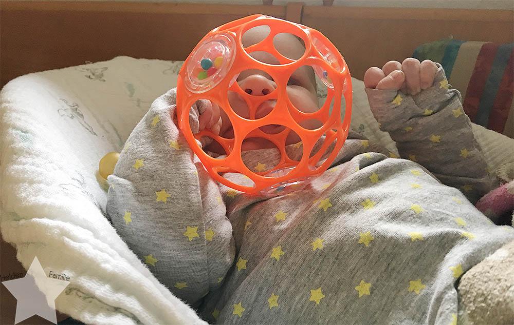 Wochenende in Bildern - Läuse-Alarn - Baby in der Wippe