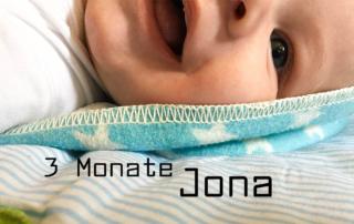 3 Monate Jona - vom Zahnen und einem Sonnenscheinbaby