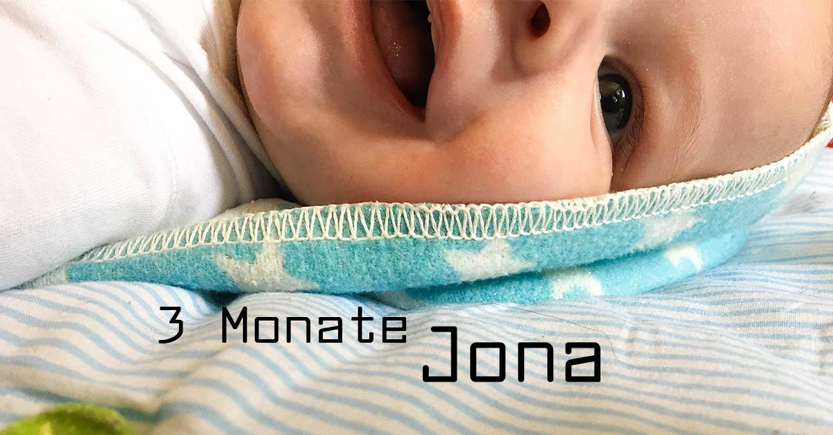 3 Monate Jona - Sonnenscheinbaby