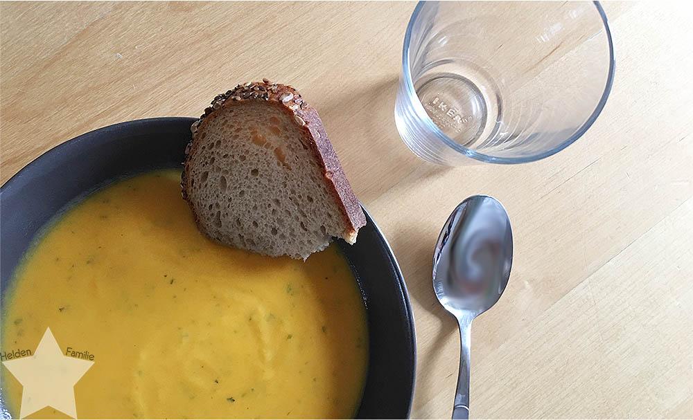 12 von 12 April - Zuhause - Süßkartoffeln-Möhren-Suppe