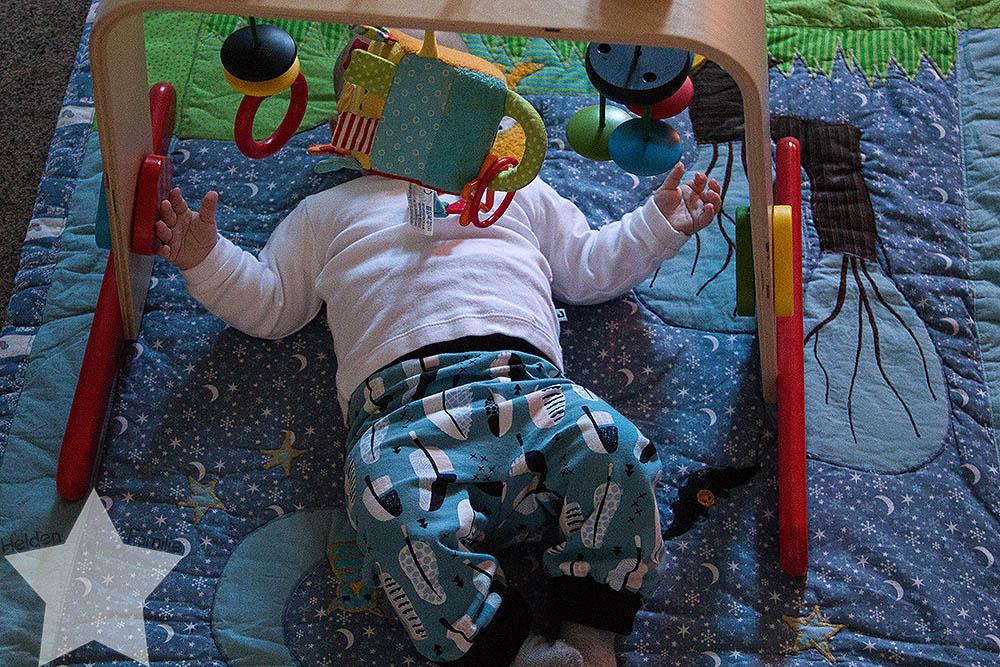 Wochenende in Bildern - Geburtstagsvorbereitungen & Muttertag - Baby am Babygym