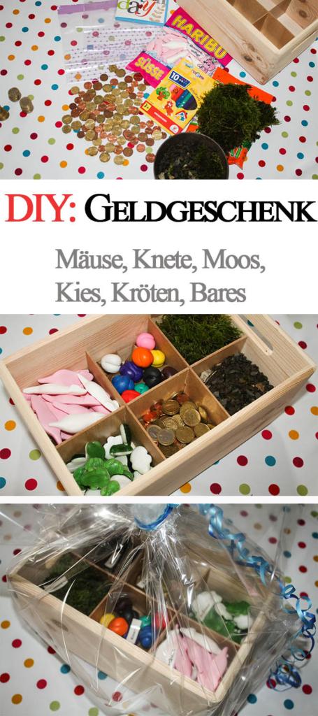 DIY: Kreatives Geldgeschenk In Einer Holz Kiste