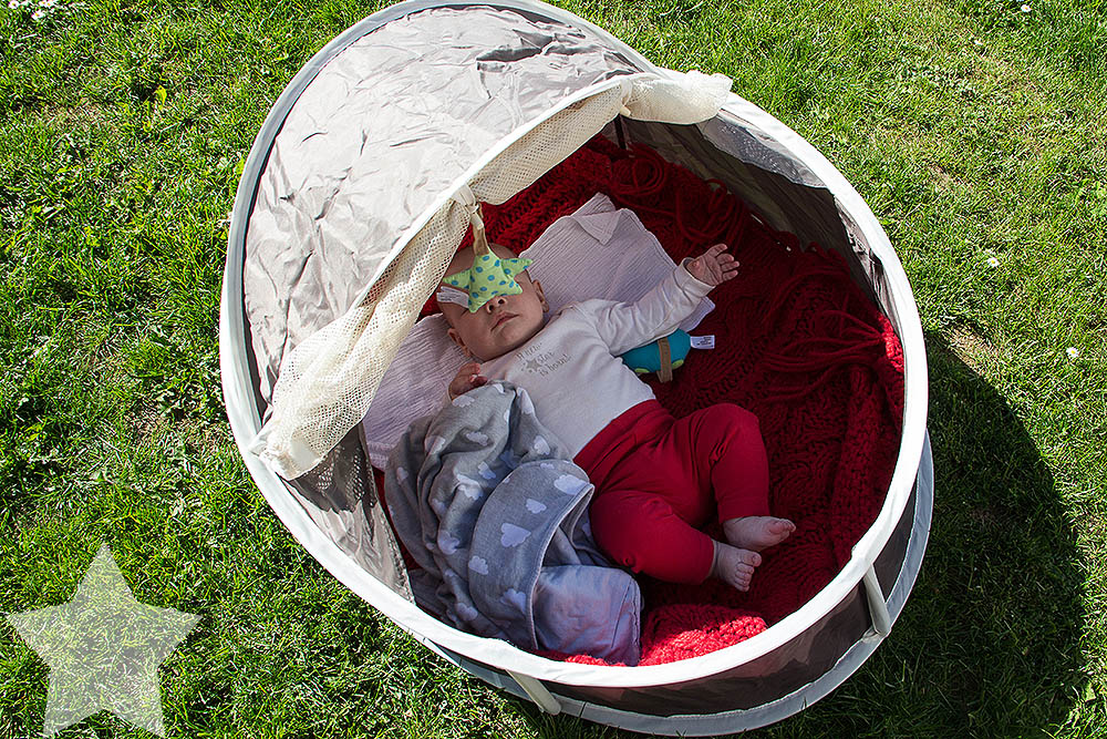 Wochenende in Bildern - Sonne, Garten, Wasserspiele - unruhiges Baby