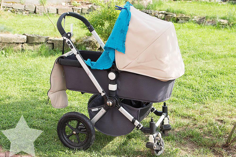 Wochenende in Bildern - Sonne, Garten, Wasserspiele - Baby schläft (nicht) im Kinderwagen