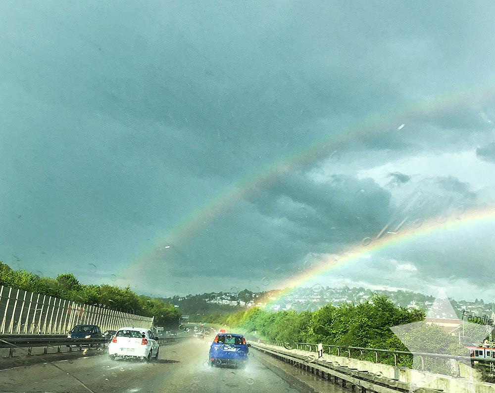 12 von 12 - Regenbogen