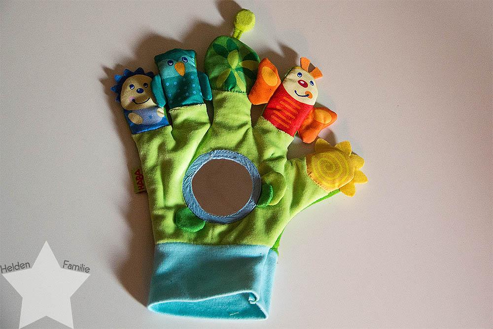 Wochenende in Bildern - Familiensamstag & Kreativsonntag - Spielhandschuh von HABA