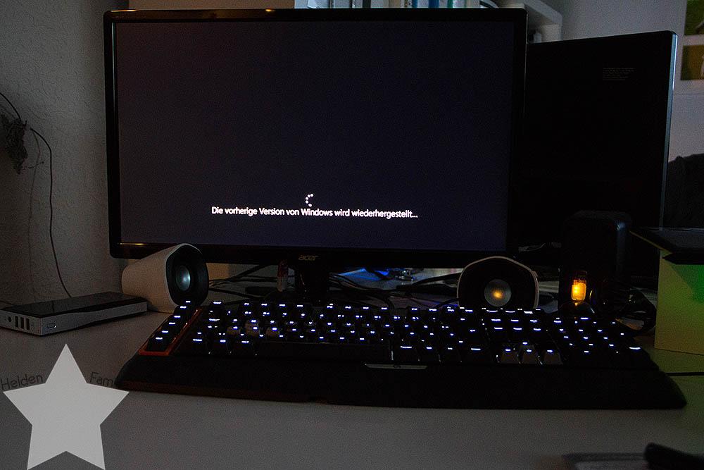 Der Sommer ist zurück! - Windows Update fehlgeschlagen