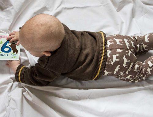 6 Monate Jona – Robben, Tragen, Trinkstreik