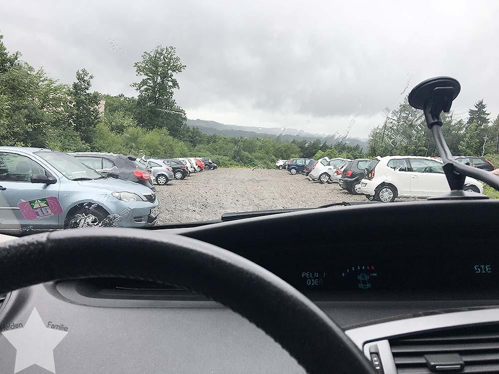 12 von 12 im Juli 2017 - Uni, Regen, schlechte Laune - Musik im Auto