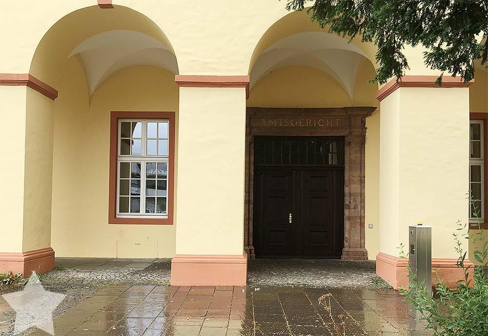12 von 12 im Juli 2017 - Uni, Regen, schlechte Laune - Gerichtsgebäude