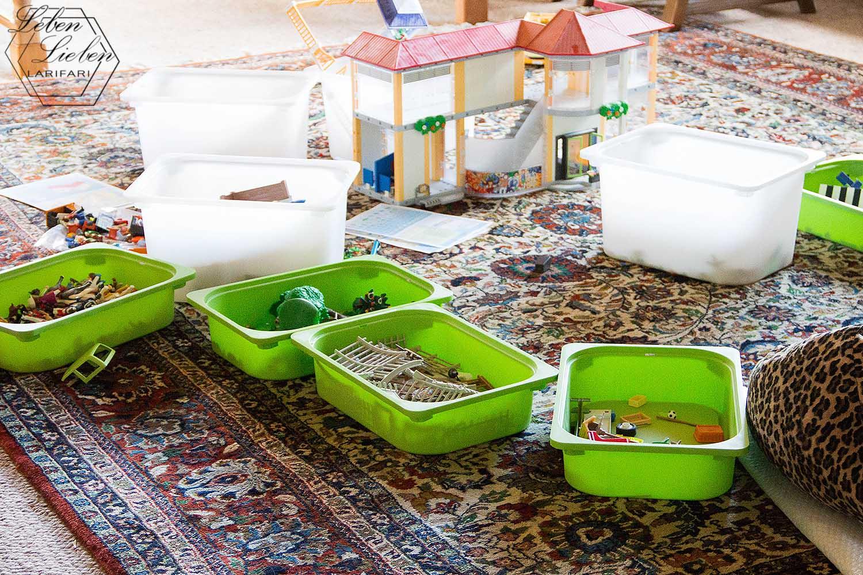 Wochenende in Bildern - Playmobil zum Verkauf