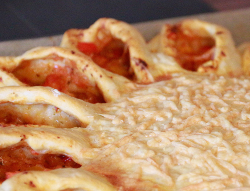 Rezept: Pizzasonne (auch vegetarisch)