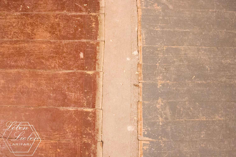 Renovierung - der erste Fail, die Böden sind nicht bündig