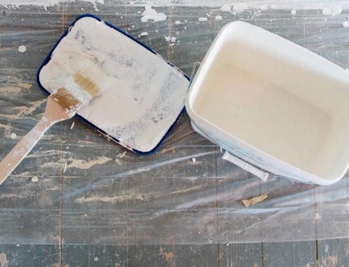 Renovierung #2: Grundieren, Verputzen und Schleifen
