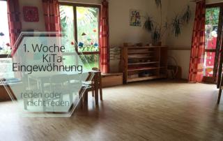 Eingewöhnung im Montessori Kinderhaus - 1. Woche