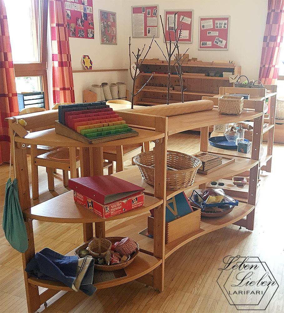 Eingewöhnung - das Montessori-Material