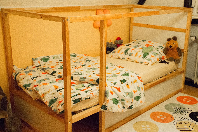 frisch bezogenes Bett - #WIB
