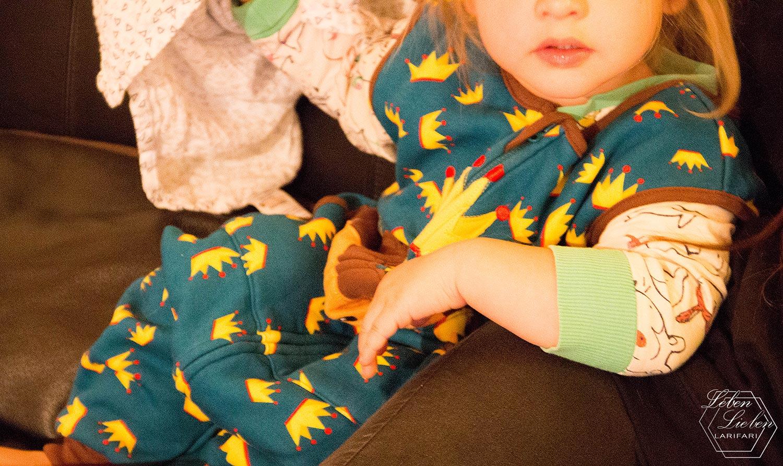 Lotte im Löwen-Schlafsack