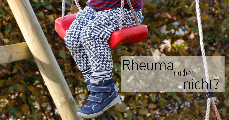 Rheuma oder nicht? Lotte schaukelt