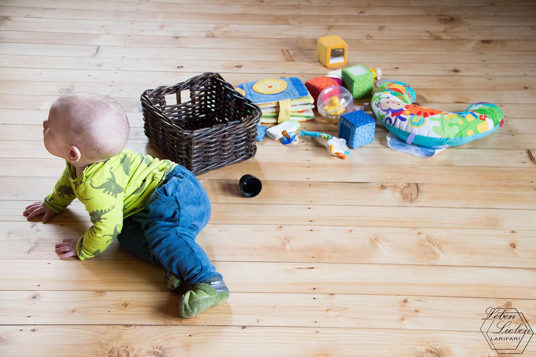 Wochenende in Bildern - Baby-Bespaßung