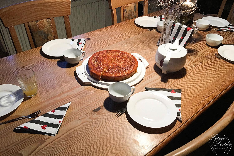 Wochenende in Bildern - Kuchen-Tafel
