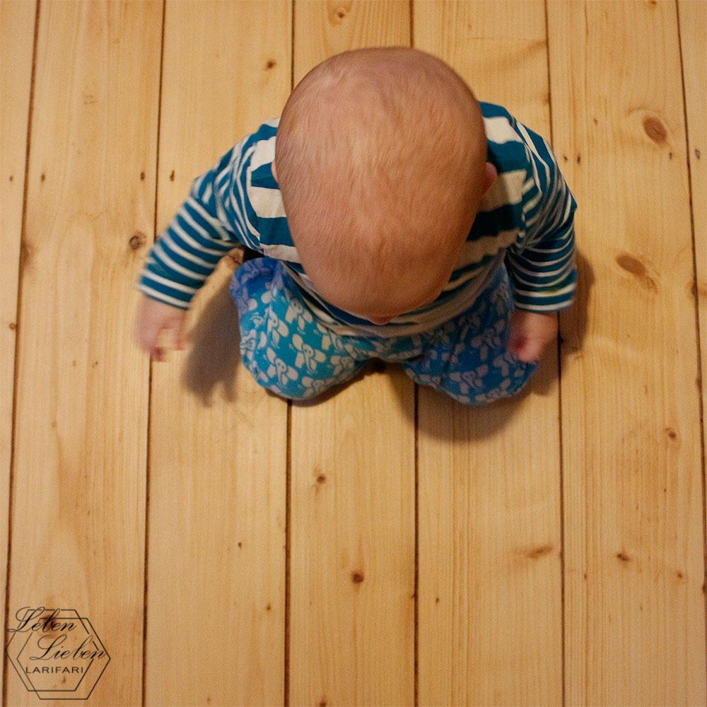 7 Monate Jona - Beikoststart, der 1. Zahn, Robben und Lachen