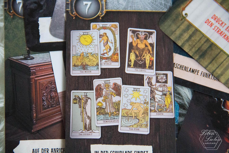 """Unlock: Mystery Adventures von Asmodee - Kartensatz """"Das Haus auf dem Hügel"""""""