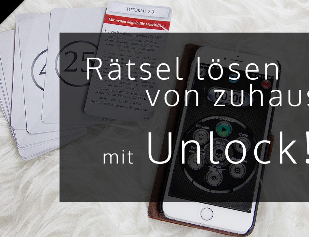 [Anzeige] Rätsel lösen von zuhause mit Unlock von Asmodee