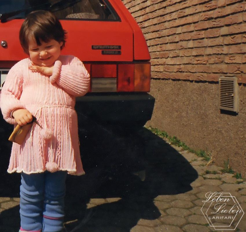 Ich mit ~3 Jahren