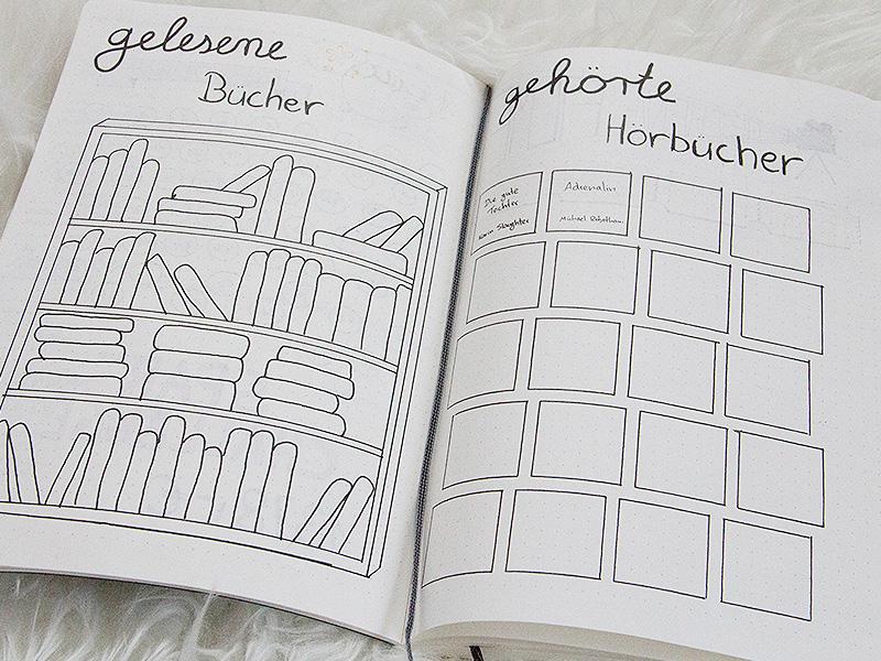 gelesene Bücher / gehörte Hörbücher