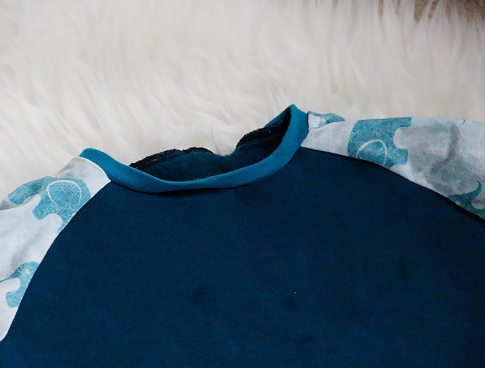 MiniMars Halsbündchen im Detail