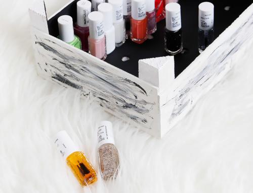 DIY: die perfekte Aufbewahrung für Nagellack