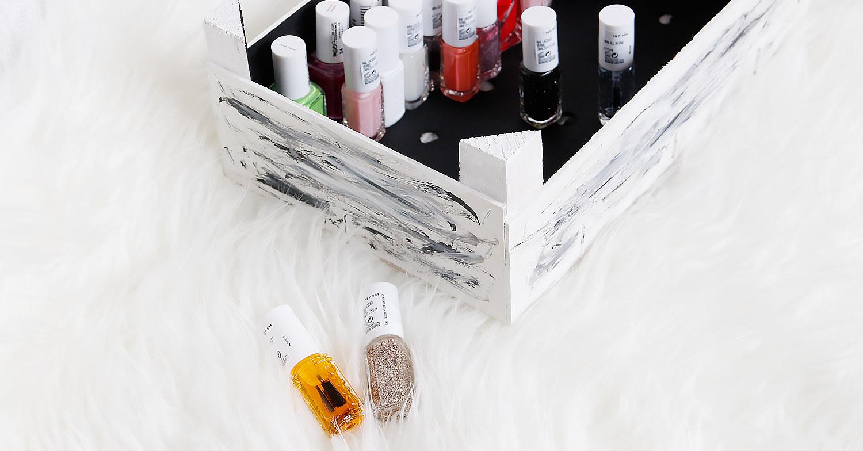 DIY: die perfekte Aufbewahrung für Nagellack - Leben, Lieben, Larifari