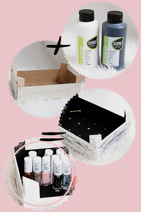 diy die perfekte aufbewahrung f r nagellack leben. Black Bedroom Furniture Sets. Home Design Ideas
