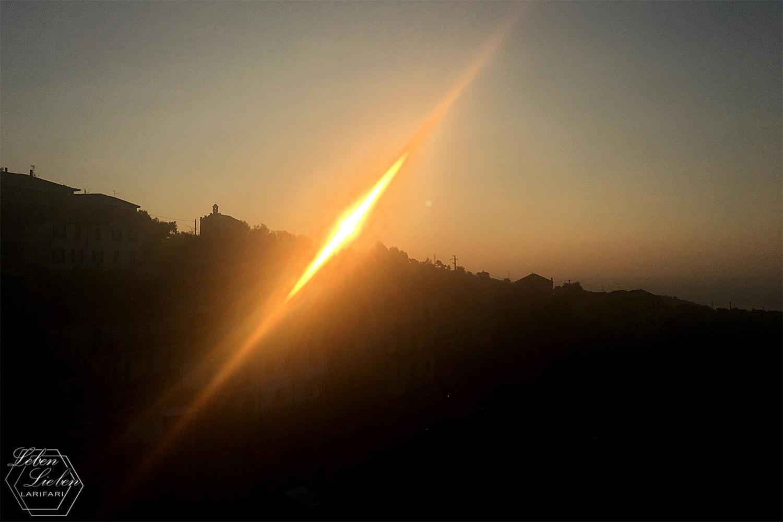 """""""Fünf Fragen am Fünften"""" - ein Sonnenaufgang in Civezza"""