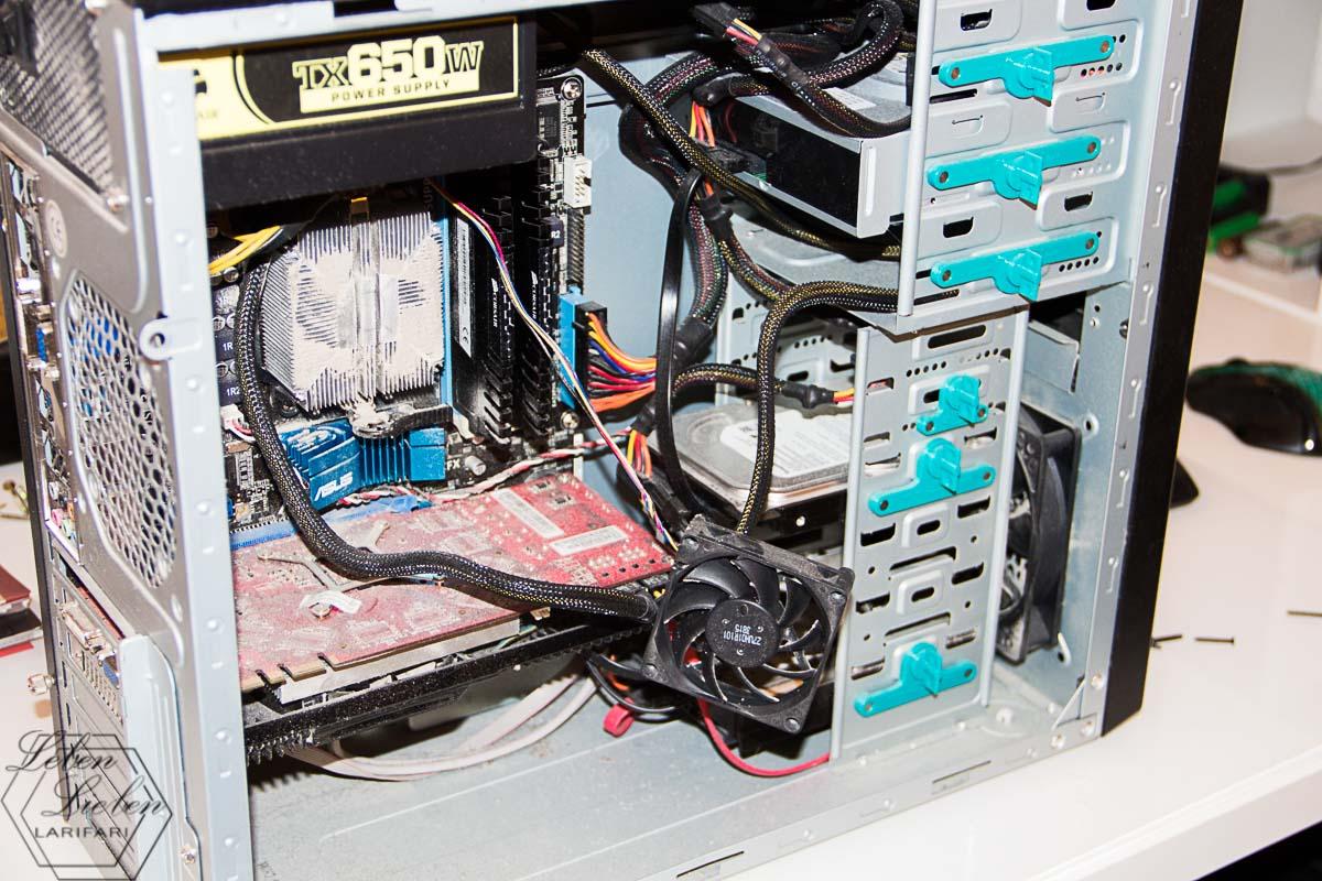 mein PC ist völlig eingestaubt